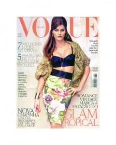 Isabeli Fontana for Vogue Brazil August 2011