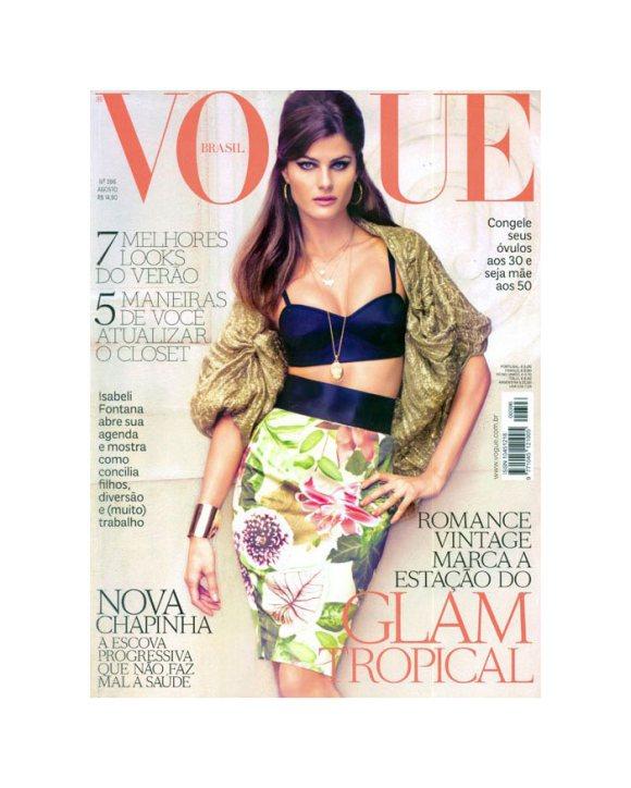 Isabeli Fontana Vogue Brazil August 2011