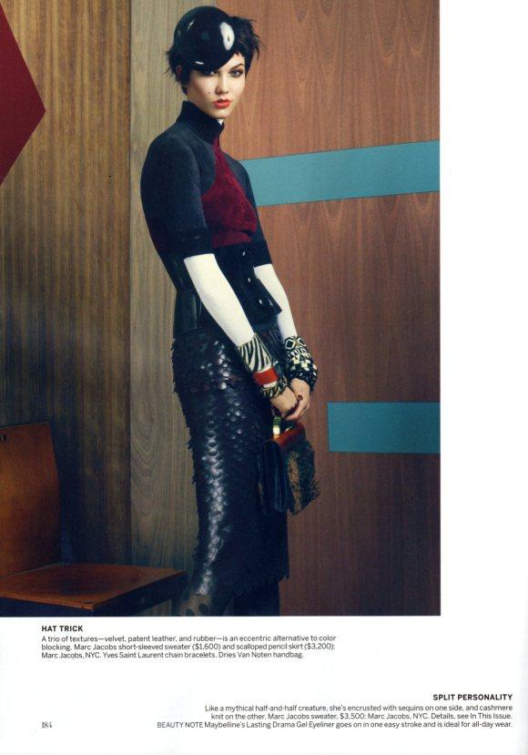 Karlie Kloss Vogue US August 2011