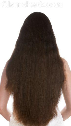 Keratin treatment hair before