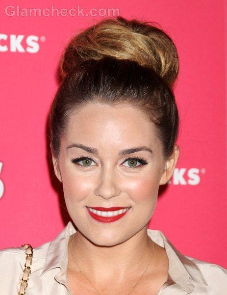 Lauren Conrad Hairstyle Top Bun