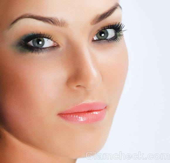 Monsoon makeup green eyeshadow