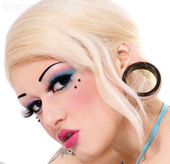 bridge piercing position face