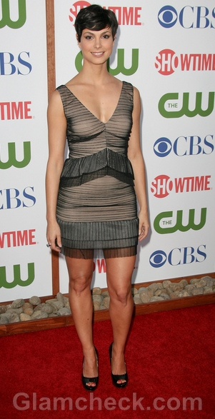 celebrity-sheat-dress-Morena-Baccarin