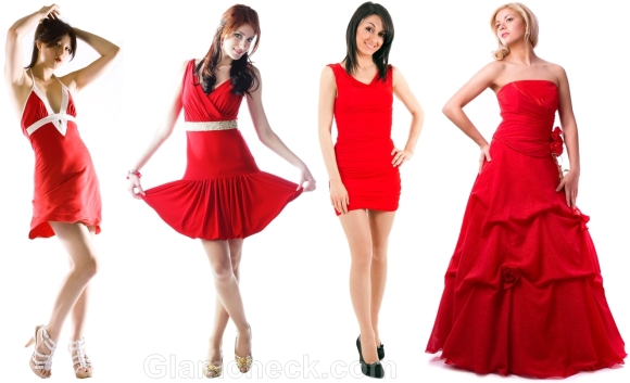 How to wear Red Dress