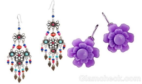 monsoon accessories colorful beaded earrings