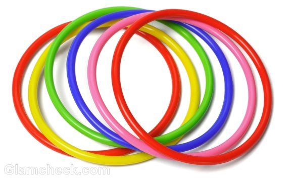 monsoon accessories rubber plastic bangles