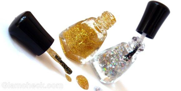 shimmer nail polish makeup products