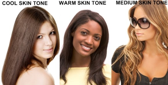 skin tones warm cool medium