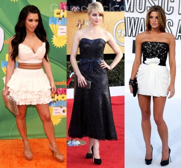 wear strapless dress