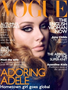 Adele for Vogue UK October 2011