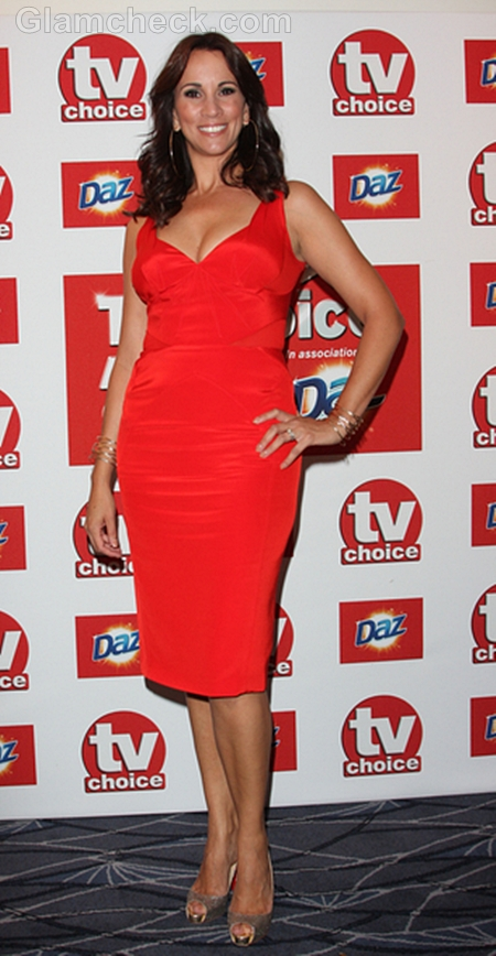 Andrea-McLean-Red-Dress-TV-Choice-Awards-2011