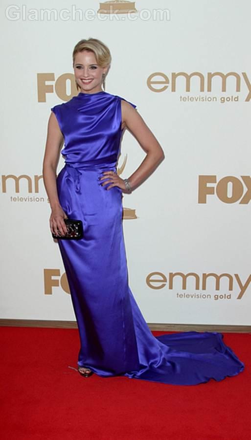 Dianna Agron Worst Dressed  2011 Emmy Awards