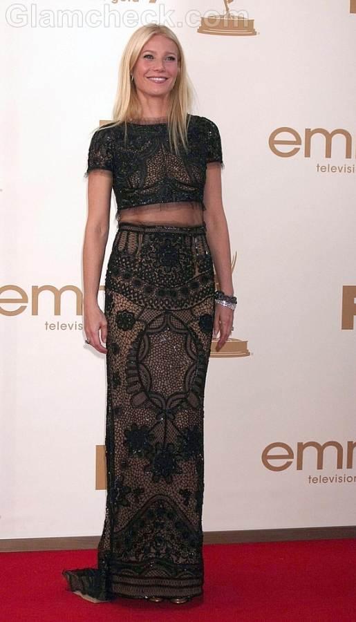 Gwyneth Paltrow Worst Dressed  2011 Emmy Awards