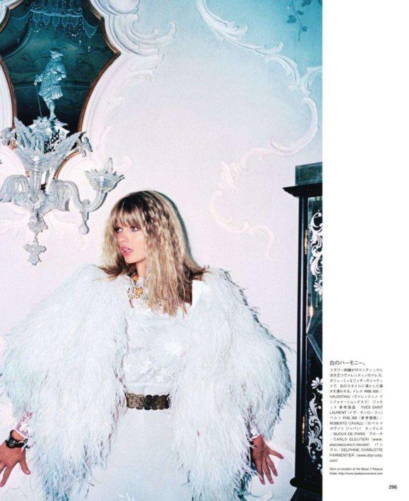 Julia Stegner Vogue Japan October 2011