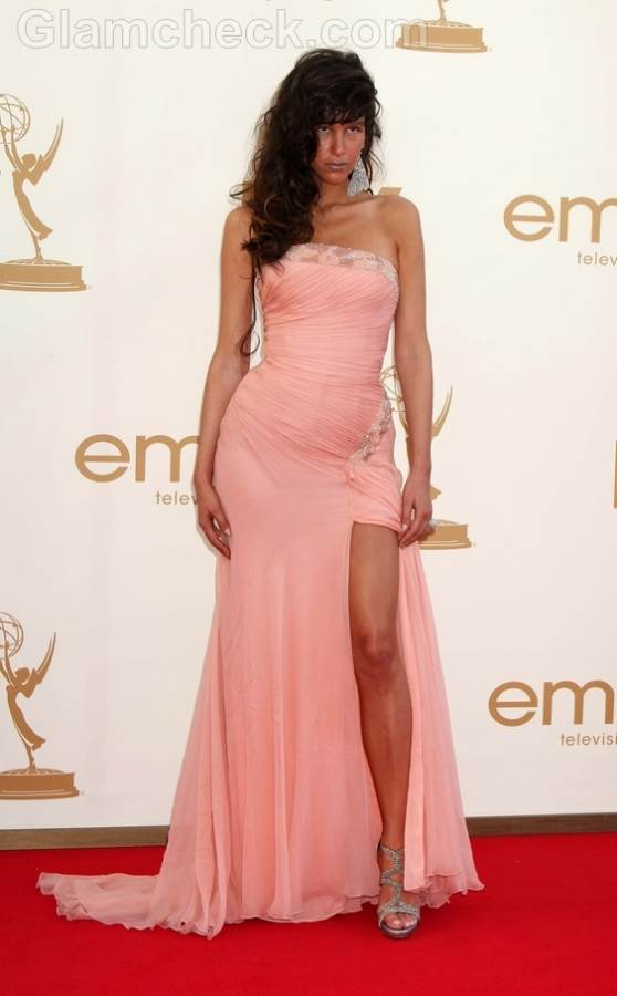 Paz de la Huerta Worst Dressed 2011 Emmy Awards