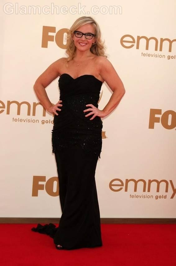 Rachael Harris Worst Dressed  2011 Emmy Awards