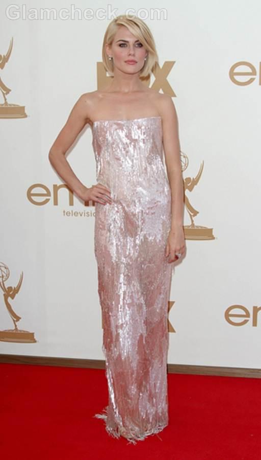 Rachael Taylor Worst Dressed  2011 Emmy Awards