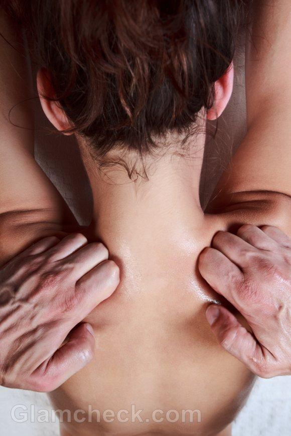 Shiastsu massage oriental