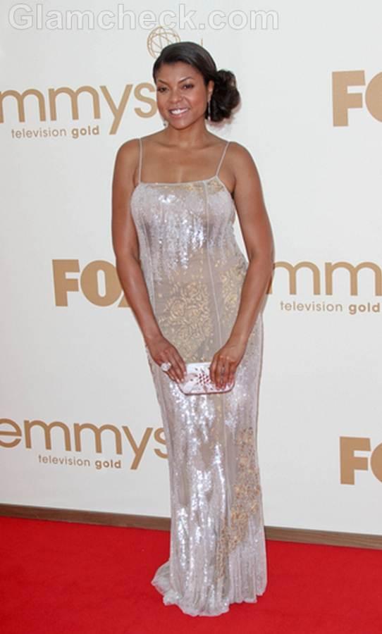 Taraji P Henson Worst Dressed  2011 Emmy Awards