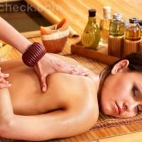 Thai massage back