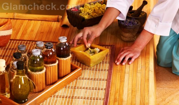 Thai massage essential oils