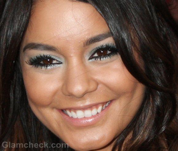 Vanessa Hudgens green eye makeup