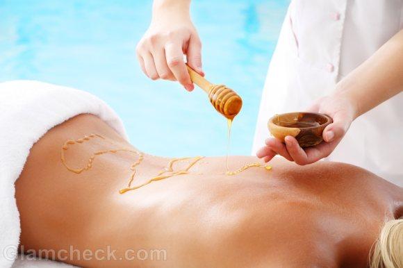 honey body massage