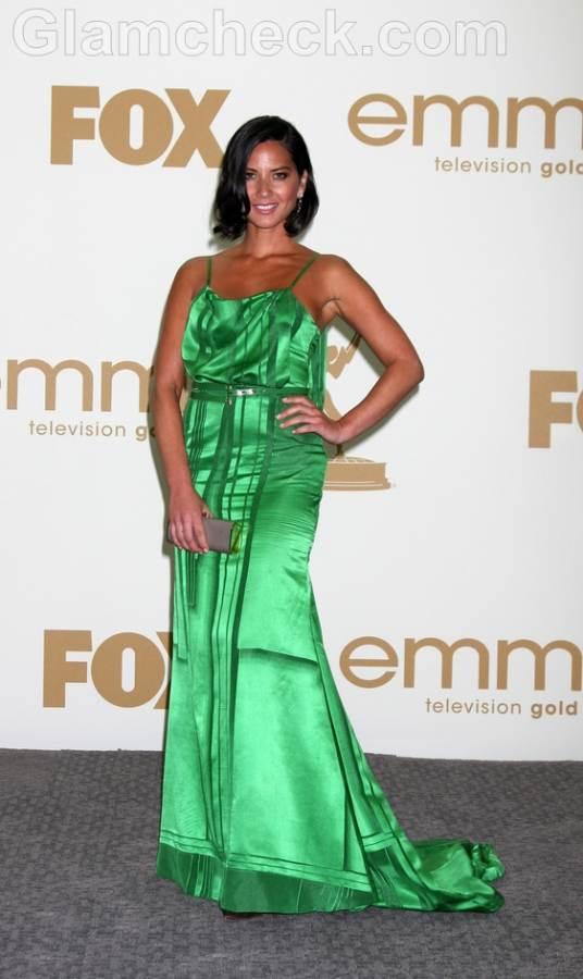 olivia munn Worst Dressed  2011 Emmy Awards