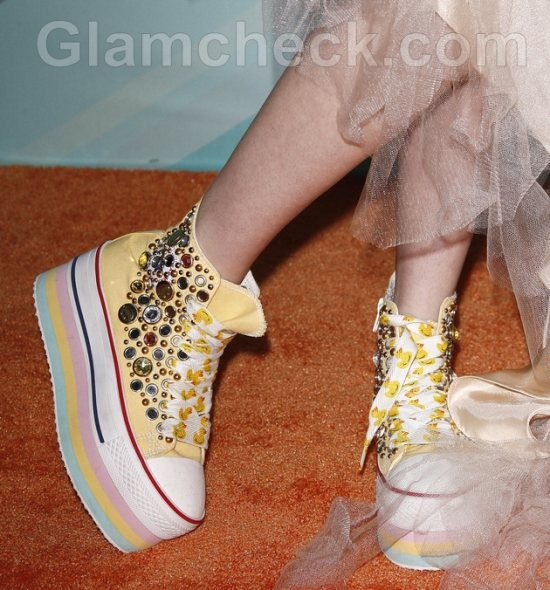 Colette Carr shoes 2011 TeenNick HALO Awards