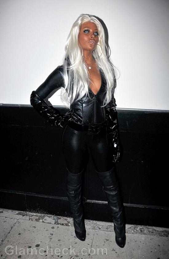 Eva Marcile S Pre Halloween B Day Party Look