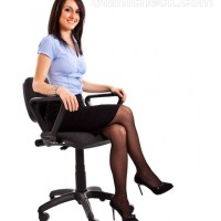 How to look Taller sitting posture