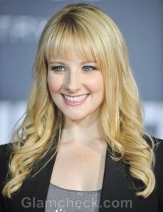 Melissa Rauch sports Semi-Formal look