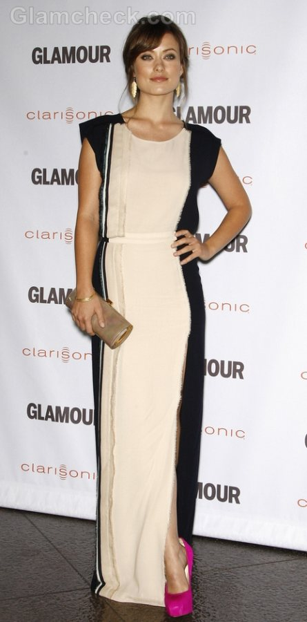 Olivia Wilde Faux Pass 2011 Glamour Reel Moments Premiere