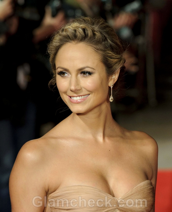 Stacy-Keibler-Milkmaid-Braids-hairstyle