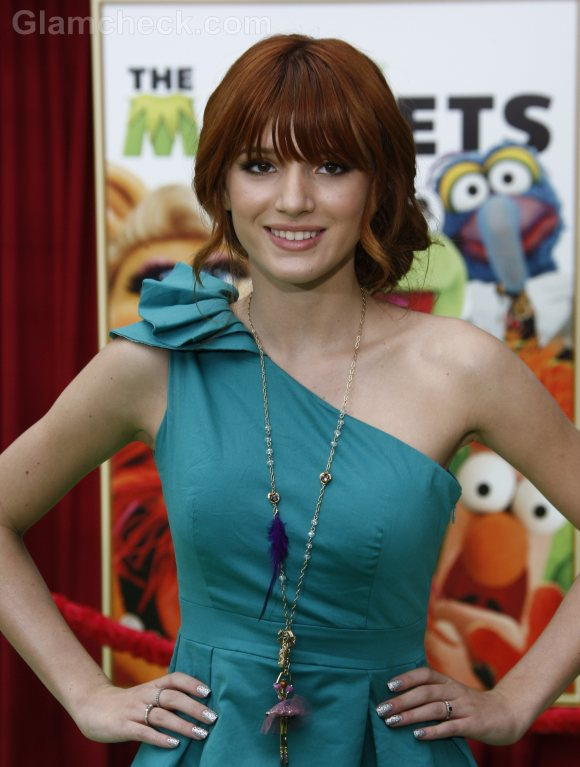 Bella Thorne Wears Funky Feathered Jewelry