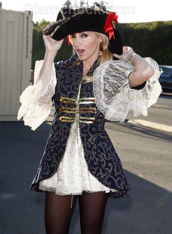 Camille Grammer halloween costume
