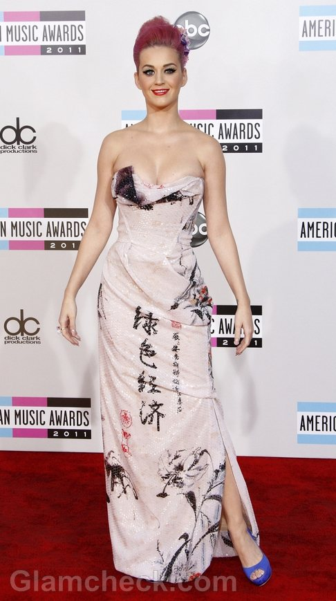 Katy Perry Gorgeous at 2011 AMAs