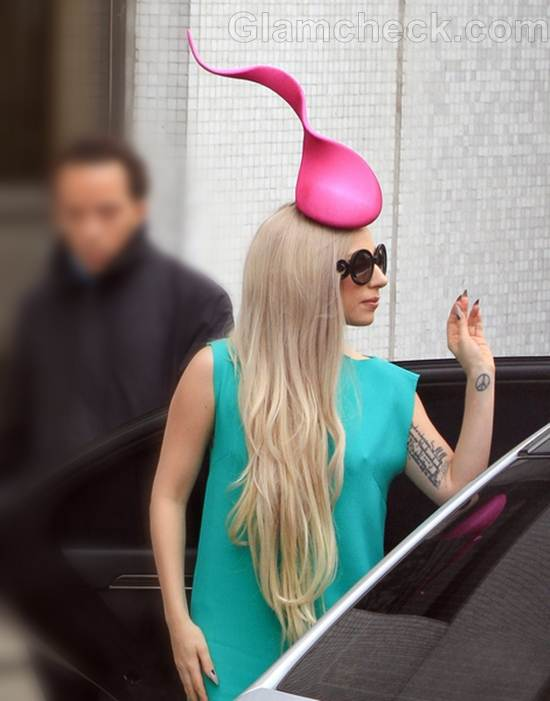Lady Gaga Looks Cute As a Cupcake