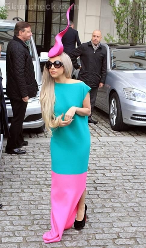 Lady Gaga Looks Cute