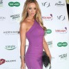 Lauren-Pope-Simply-Stunning-in-Purple-Sheath-Dress
