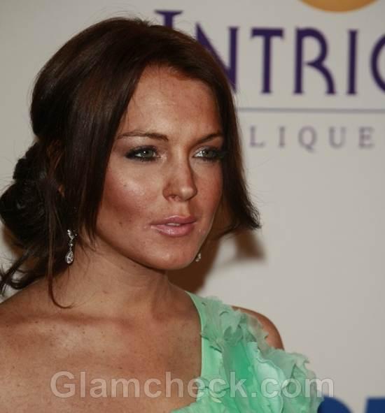 Lindsay Lohan Worst Celebrity Makeup