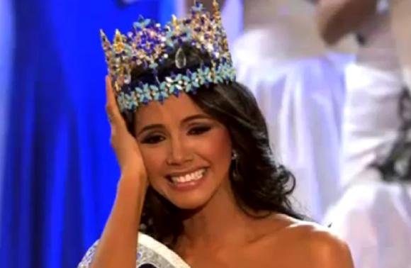 Miss Venezuela Ivian Sarcos Miss World 2011 Winner