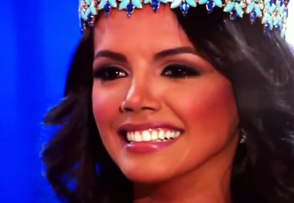 Miss Venezuela Ivian Sarcos crowned Miss World 2011