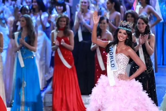 Miss World 2011 Winner  Miss Venezuela Ivian Sarcos