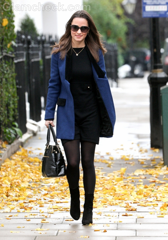 Pippa Middleton Dresses Up For Coffee Run