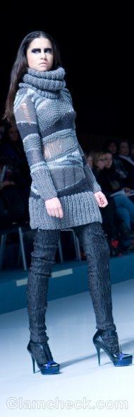 wear sweater dress how to