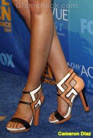 Cameron Diaz Celebrity footwear trend 2011
