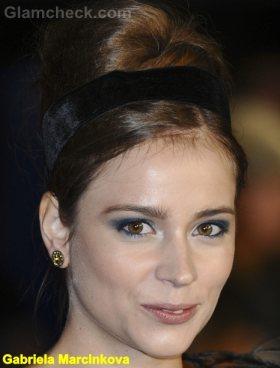 Gabriela Marcinkova beehive hair