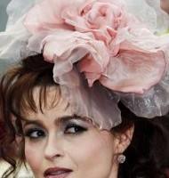 Helena Bonham Carter Celebrity hair accessories trend 2011